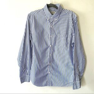 J Crew Medium Slim Fit 2 Ply Cotton Shirt